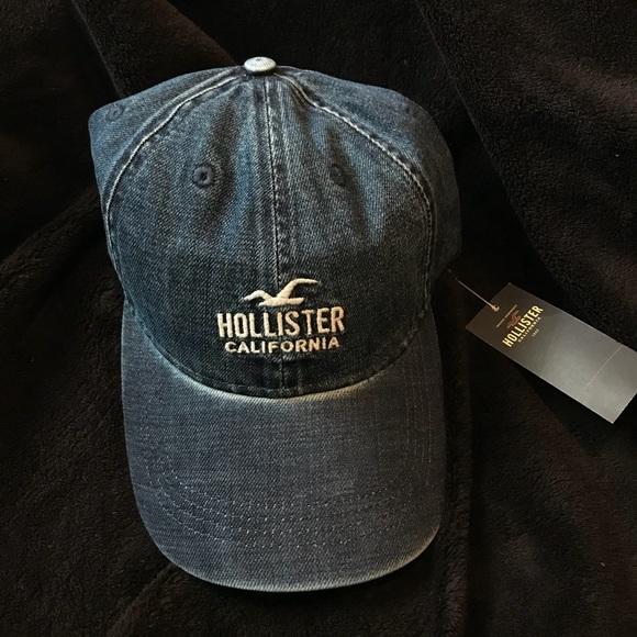 56a66da716e Hollister denim dad hat